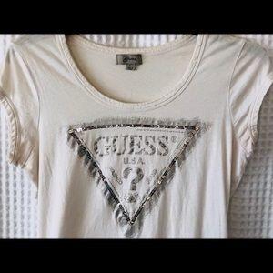 GUESS Logo Short Sleeved Shirt
